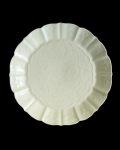 ヨシノヒトシ 黄白瓷蝶花文7寸皿
