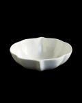 ヨシノヒトシ 白瓷輪花鉢(M)