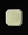 ヨシノヒトシ 青瓷隅入板皿(S)