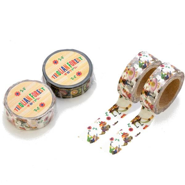 マスキングテープ(総柄)   チロリアンの公式キャラクターグッズ プレゼントにも