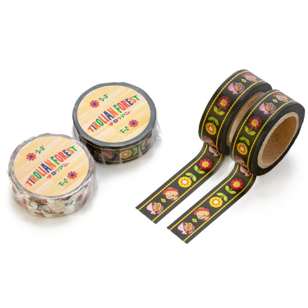 マスキングテープ(チロリアン) | チロリアンの公式キャラクターグッズ プレゼントにも