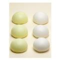 弔事用緑白薯蕷饅頭 小(2個入り化粧箱)