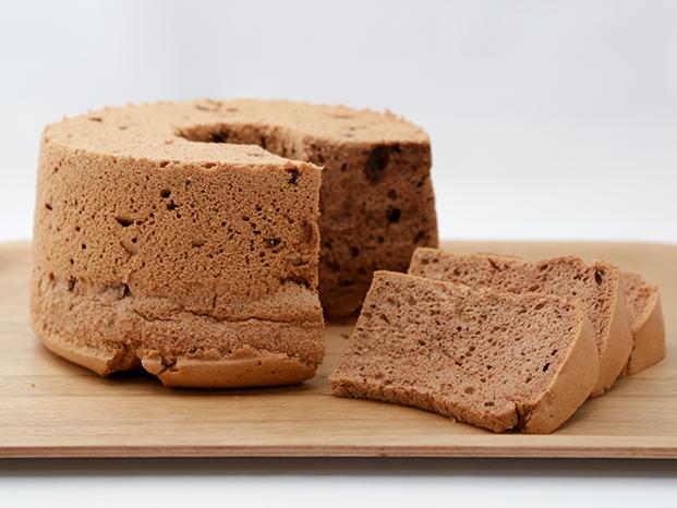 【送料無料】お子様に大人気!チョコレートシフォンケーキ(20cmホール)