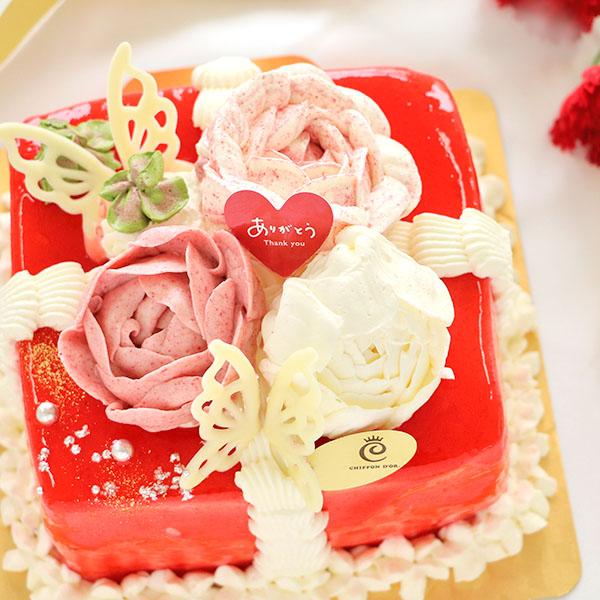 フラワーケーキ(小)