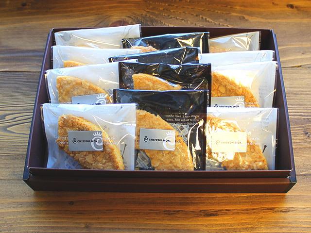 【送料無料☆】姫路名物アーモンドバター味♪塩アーモンドバターラスク12枚セット
