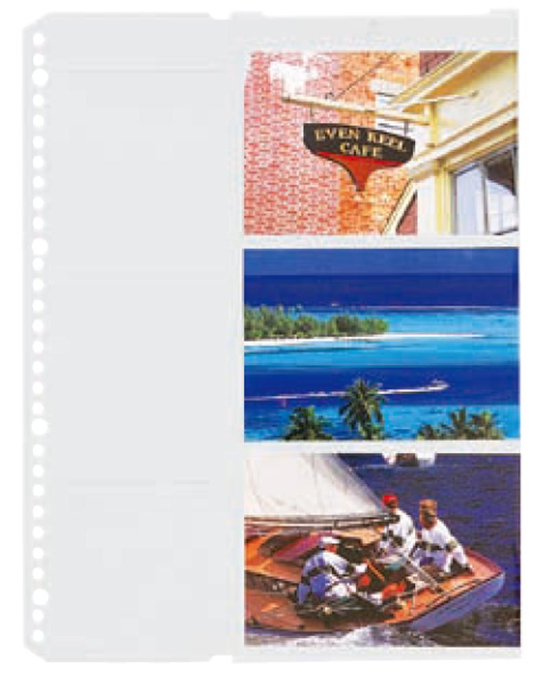 FS プリント替台紙  L・パノラマ用 1パック(10枚入り)   FSプリント用、L-5、ポケットファイル共通