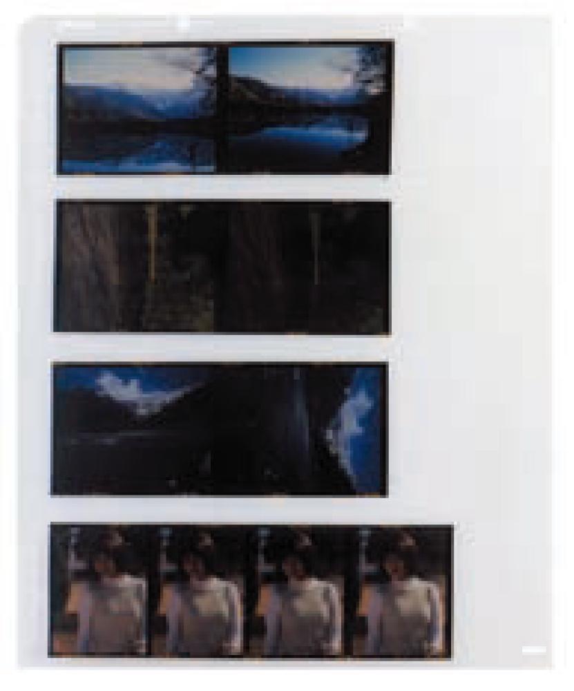 FS ネガ用替台紙 ブローニ用 (6x4.5 6x6 6x7 6x9) 1パック(10枚入り)