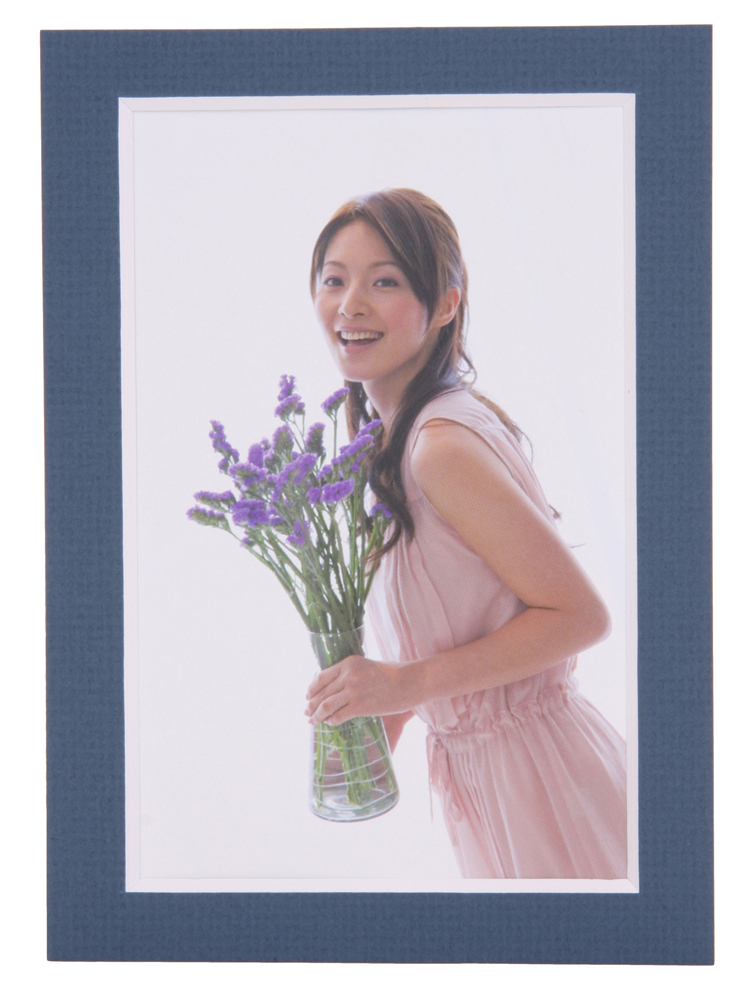 67%オフ!! ジグザマットアルバム ハガキ 18ポケット バルティクブルー  フレーム幅16mm    シートカラー:ライトアクアブルー x ライトイエロー