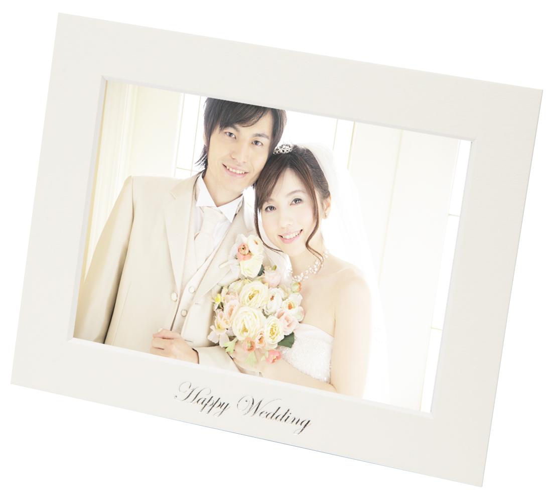 ユークリッドマット Wedding 2L ヨコ ホワイト