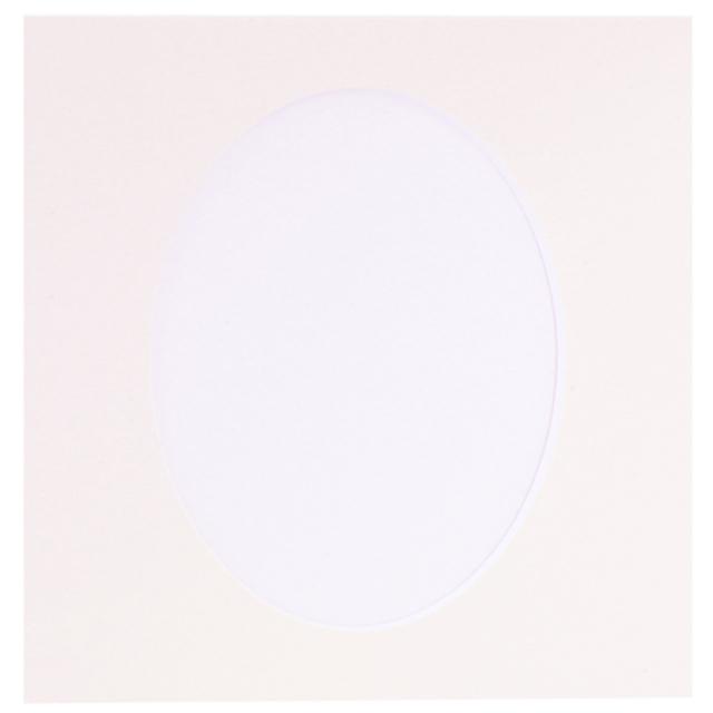 新セットアルバム専用 共通中台紙 六切 楕円