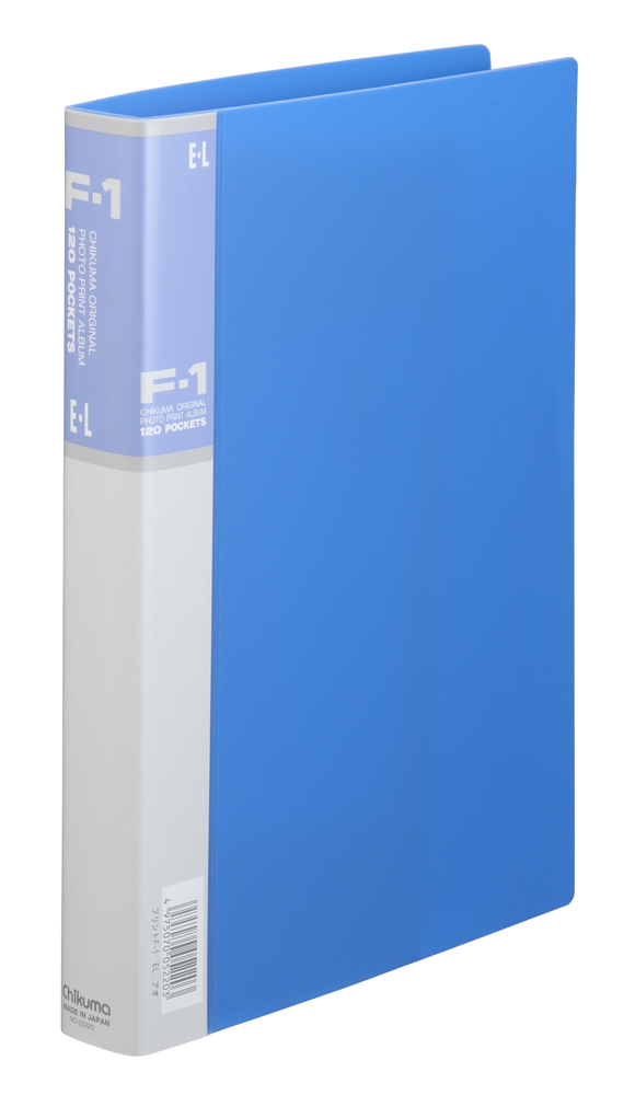 フォトプリントアルバム F-1 2L ブルー 台紙30枚入り 「プリント専用」
