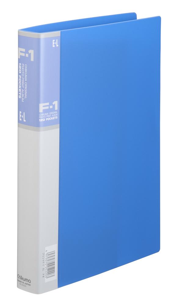 フォトプリントアルバム F-1 EL ブルー 台紙30枚入り 「プリント専用」