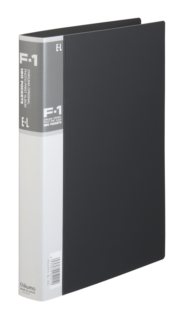 フォトプリントアルバム F-1 EL ブラック 台紙30枚入り 「プリント専用」