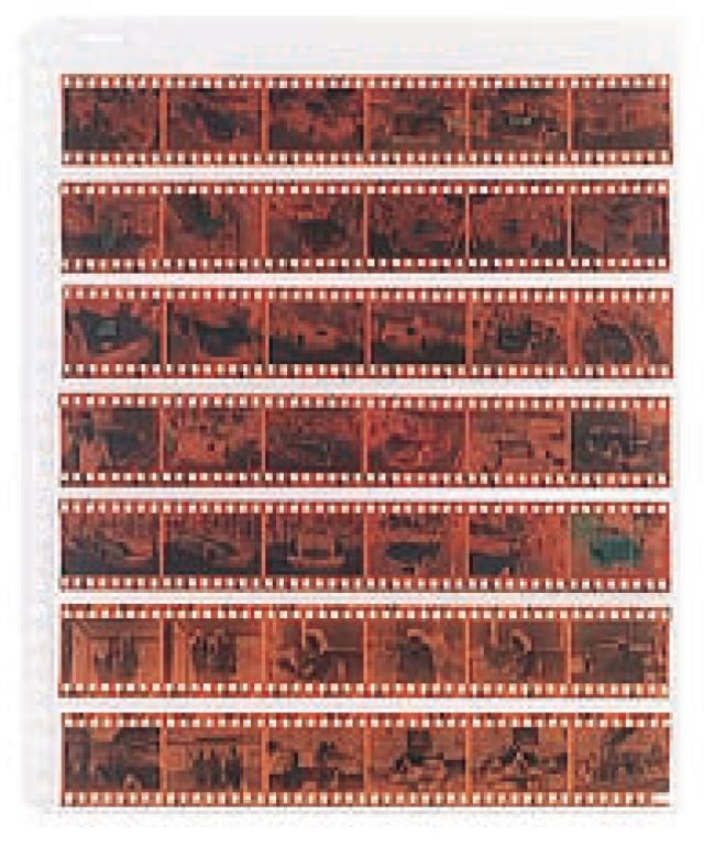 FS ネガ用替台紙 35mm用 1パック(10枚入り)