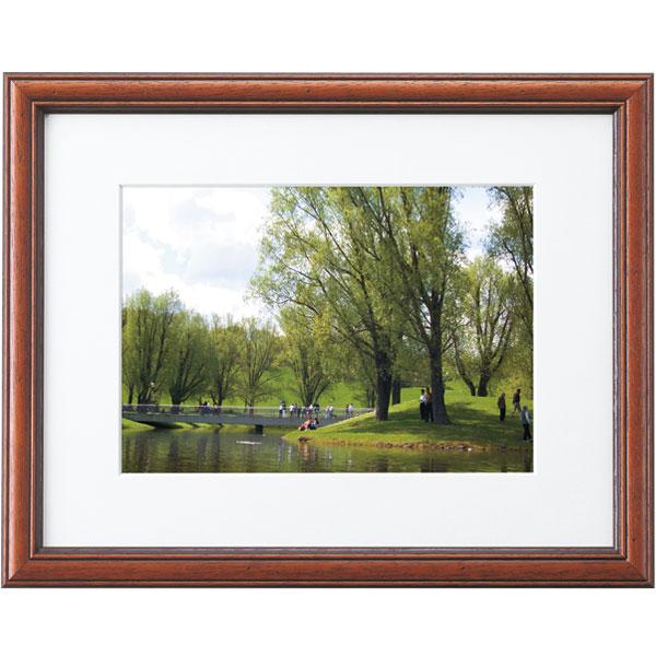 高級木製額縁 FD ブラウン A3 賞状、写真兼用