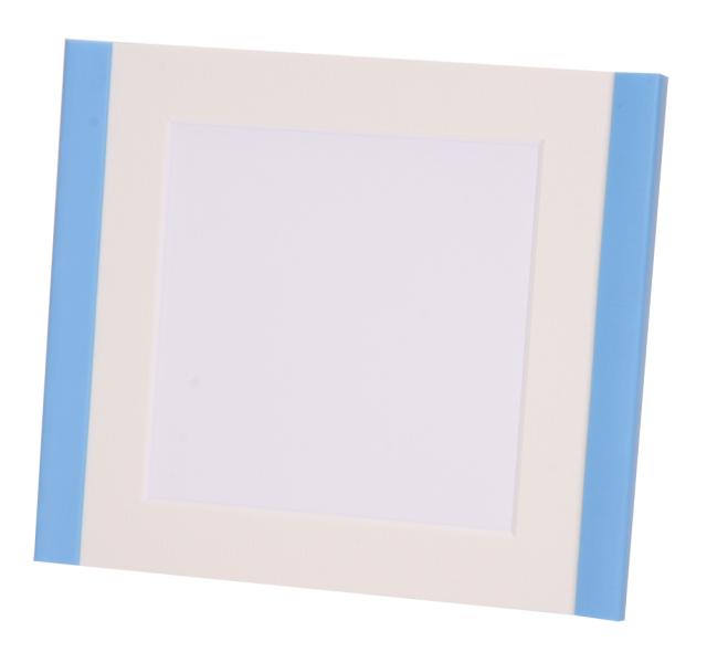 パティーサム ましかく ブルー (中枠色 : ホワイト)
