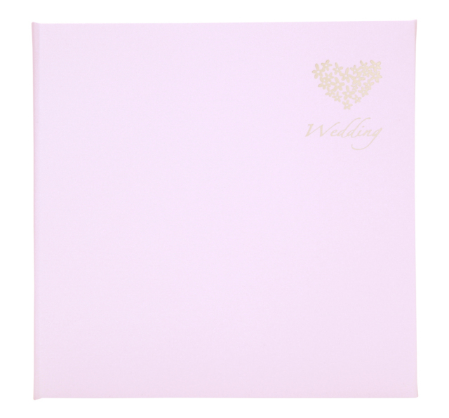 ウェディング台紙 V-377 6切2面 ピンク   生産終了品