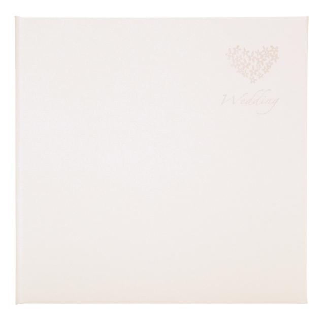 ウェディング台紙 V-377 6切2面 クリーム