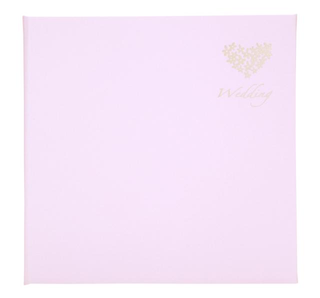 ウェディング台紙 V-377 6切3面 ピンク
