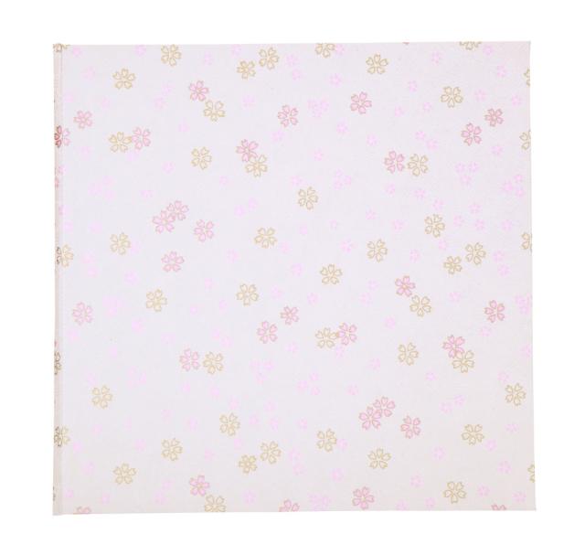 京都友禅和紙使用 ポートレート台紙 V-50 2L-2面 波桜