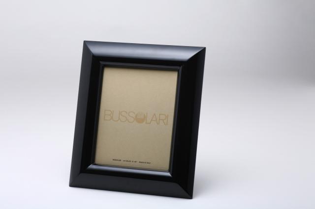 在庫僅少アウトレット品!  イタリア製ブッソラーリ社 高級木製額 1405 6切 ブラック