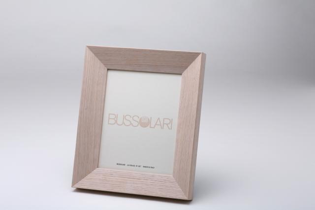 在庫僅少アウトレット品!  イタリア製ブッソラーリ社 高級木製額 1407 6切 ホワイト
