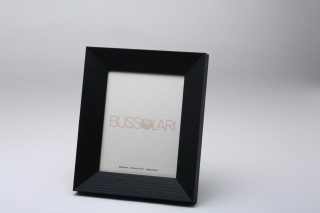 在庫僅少アウトレット品!  イタリア製ブッソラーリ社 高級木製額 1407 6切 ブラック