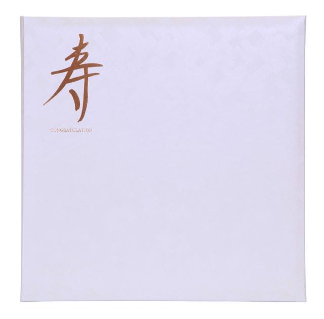 寿台紙 V-1106 6切 3面用 ホワイト 表紙のみ (中枠別売り)