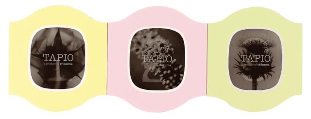 タピオ ミニ ウエイブ カスタード&ピンク&ペールグリーン