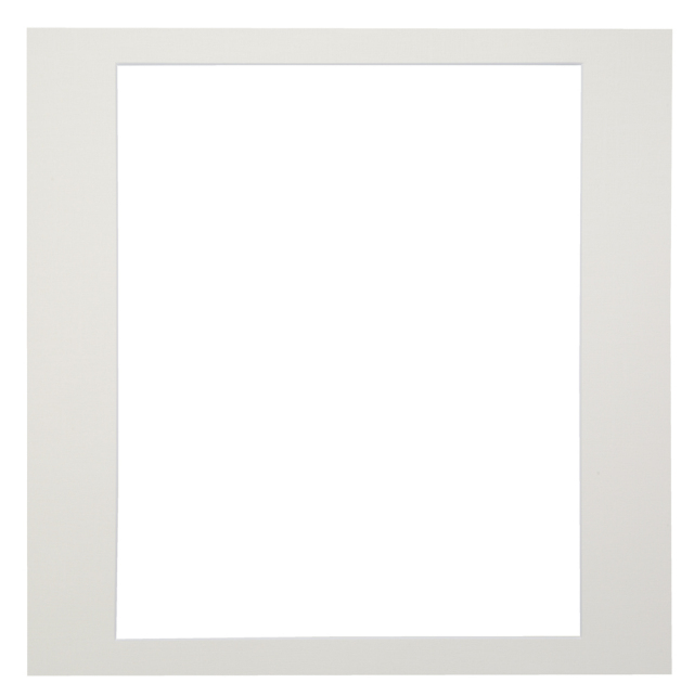 カスタム中台紙  A4サイズ ホワイト 窓抜:4切角