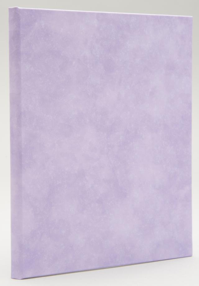 写真台紙 V-60 L判2面 うす紫
