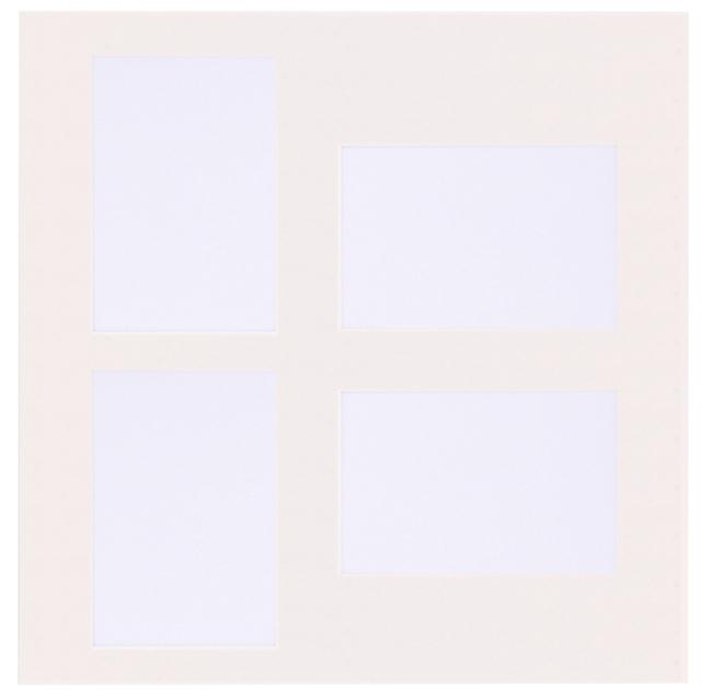 新セットアルバム専用 共通中台紙 L判 縦 x 2 横 x 2