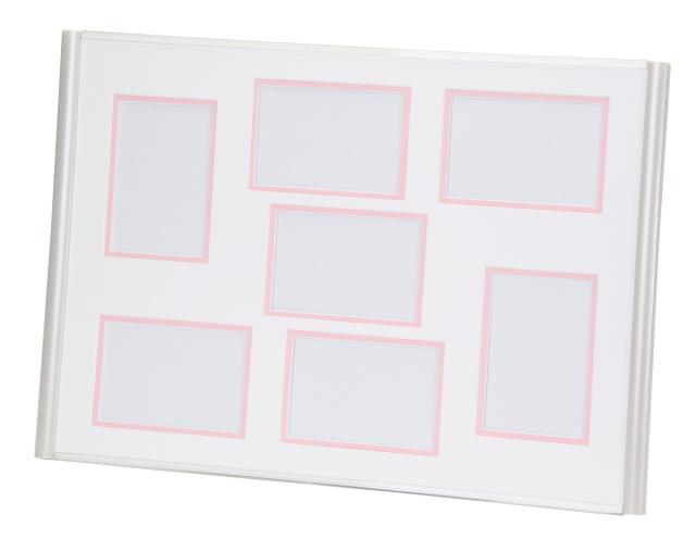 サムフレンドリー7  ホワイト / ピンク
