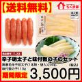 【送料無料】期間限定12/25(金)まで辛子明太子と味付数の子セット
