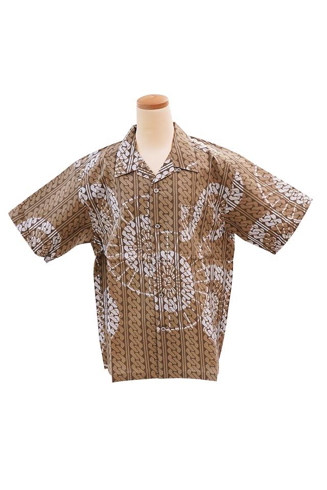 【竺仙アロハシャツ】番傘と吉原繋<Mサイズ>