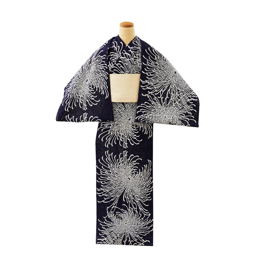 【反物】女性 『綿絽地染』糸菊