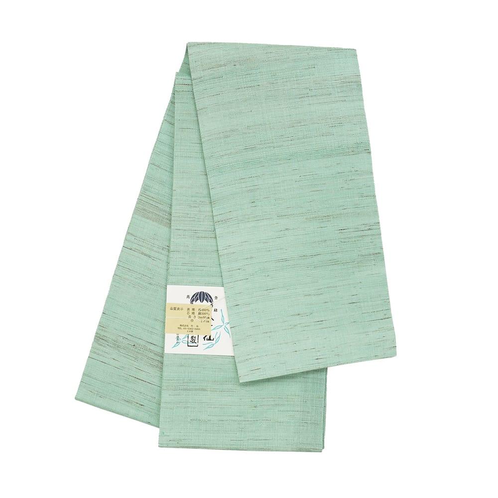 【麻半巾帯】ミント