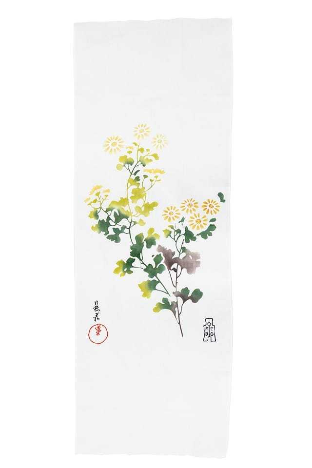 【お手ぬぐい】 野菊