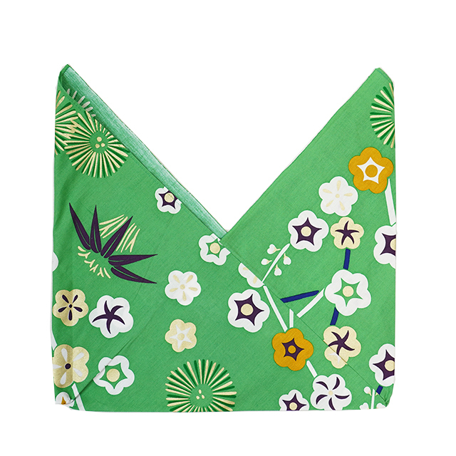 【三角袋】金霞(緑)
