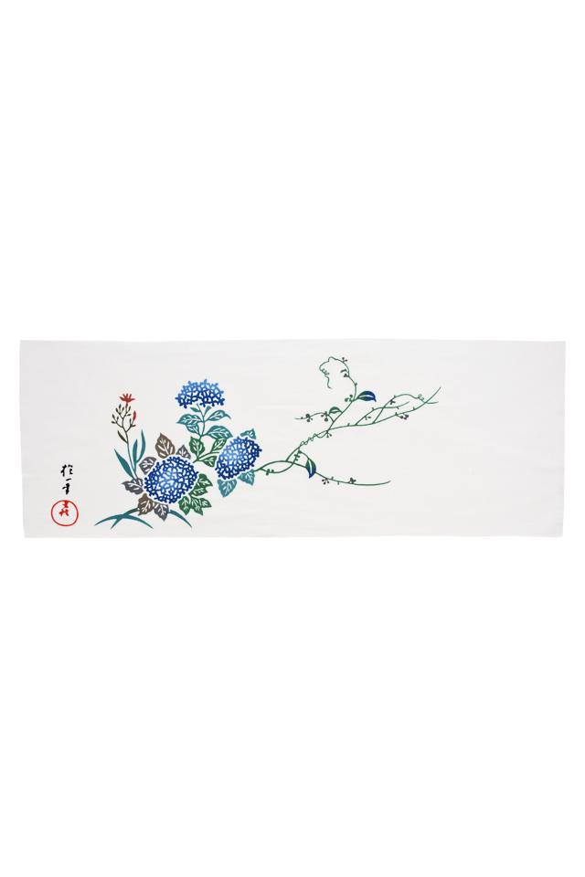 【お手ぬぐい】紫陽花
