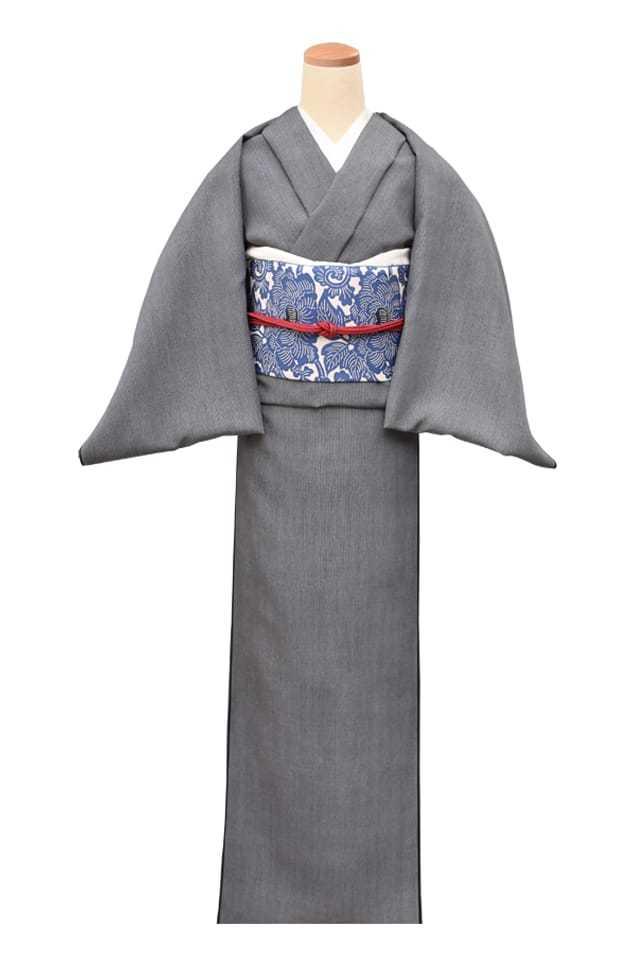 『江戸小紋』万筋 黒