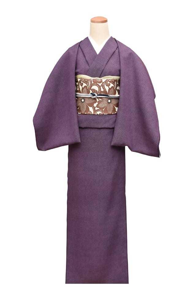 『江戸小紋』並鮫小紋 濃紫(こきむらさき)