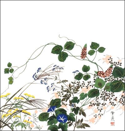 【お膳掛】秋草