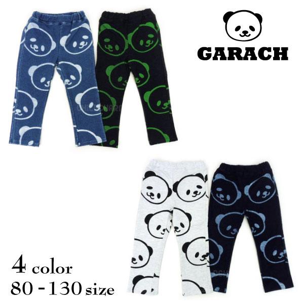 【SALE!50%OFF!!】GARACH(ギャラッチ)パンダ柄ロングパンツ【メール便可能】