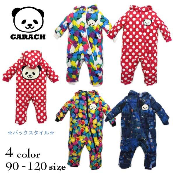 【2018秋冬物新作♪】GARACH(ギャラッチ)パンダ&総柄ジャンプスーツ【メール便不可!!】