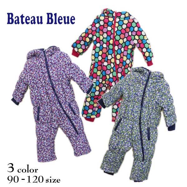 【SALE!27%OFF!!】Bateau Bleue(バトーブルー)総柄ジャンプスーツ【メール便不可!!】