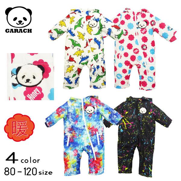 【20%OFFSALE】GARACH(ギャラッチ)パンダ&総柄ジャンプスーツ【メール便不可!!】