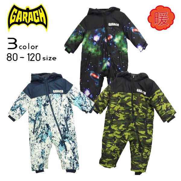 【20%OFFSALE】GARACH(ギャラッチ)総柄ジャンプスーツ【メール便不可!!】