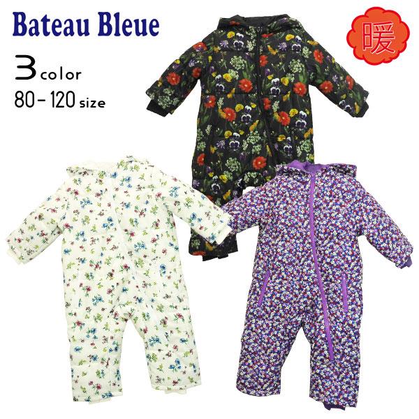 【20%OFFSALE】Bateau Bleue(バトーブルー)総柄ジャンプスーツ【メール便不可!!】