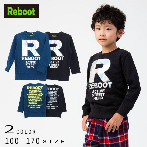 【2020秋冬新作】Reboot(リブート)Rロゴトレーナー【140サイズまでメール便送料無料】